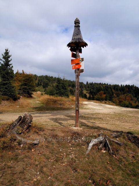 Rychlebské hory - rozc. Císařská bouda