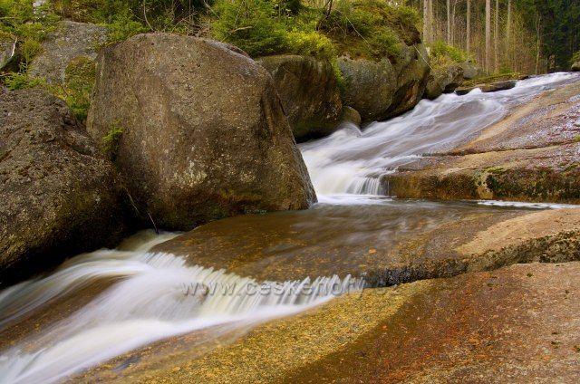 Vodopád na Černé Desné.