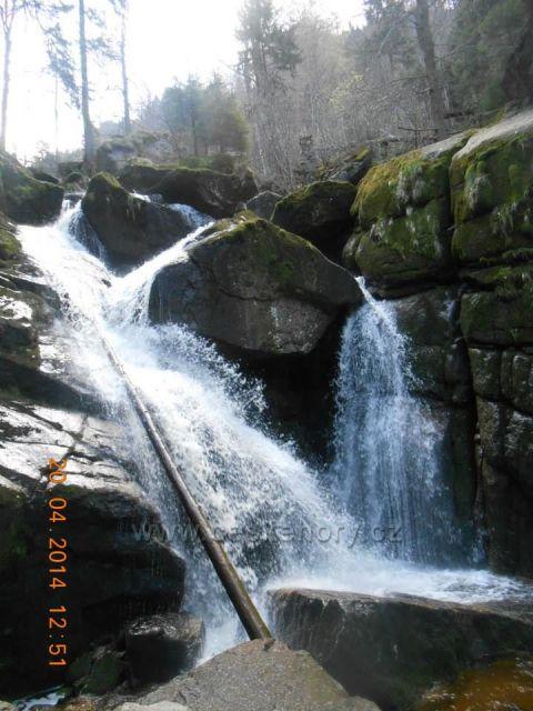 voodopád Černého potoka-Jizerské hory