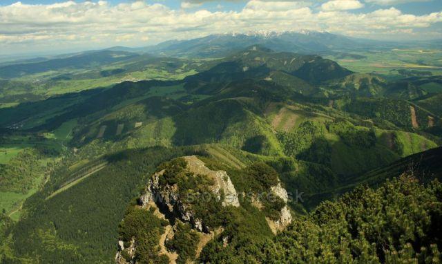 Tatranské výhledy z Velkého Choče