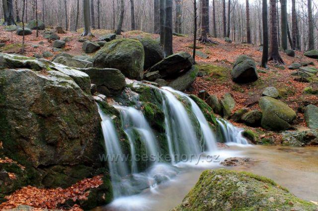 Vodopád Malého Štolpichu