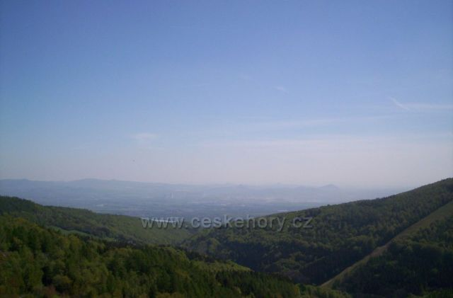 Pohled z Moldavy