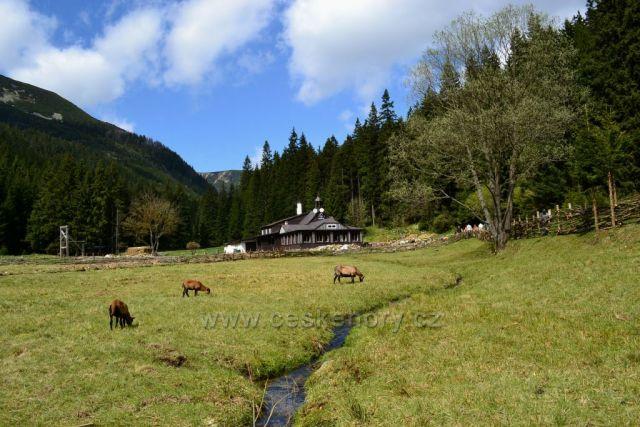 Obří důl - horská farma u Boudy v Obřím dole