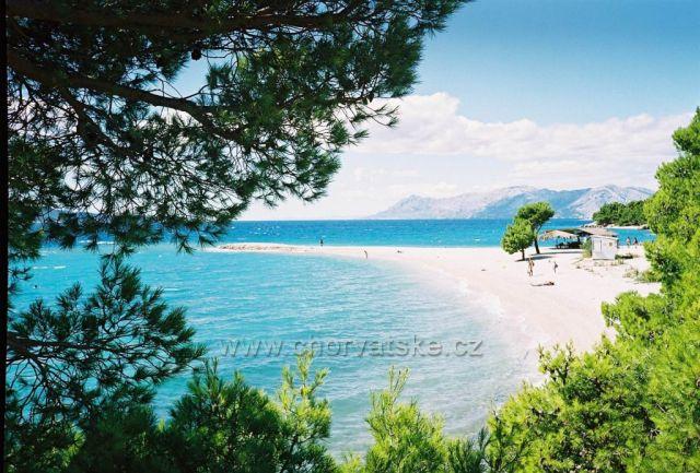pláž Makarská