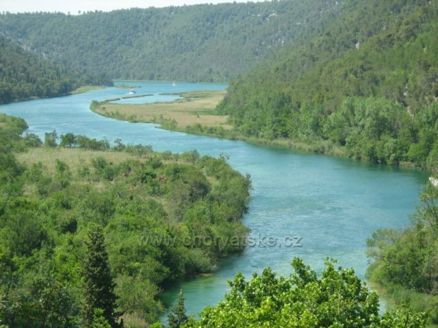 řeka Krka