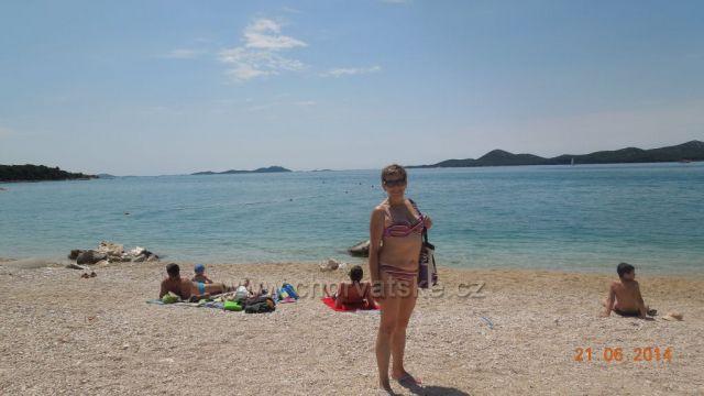 pláž, ostrov Kornati -  Biograd na Moru