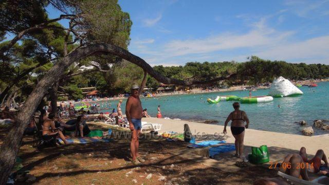 pláž Soline - Biograd na Moru