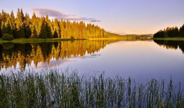 Soušská přehrada.