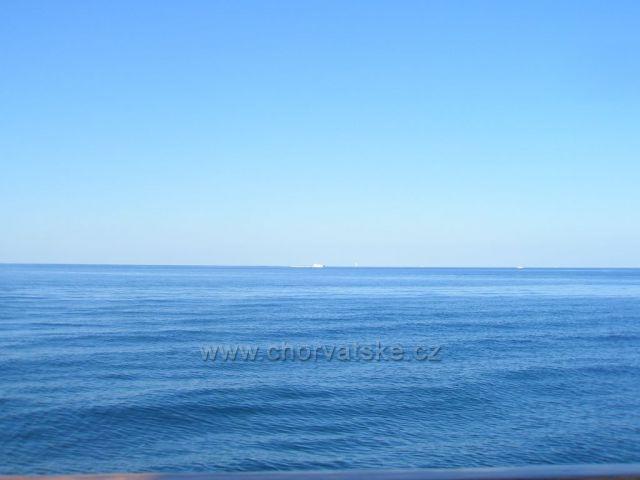 Poreč - pohled směr itálie :)