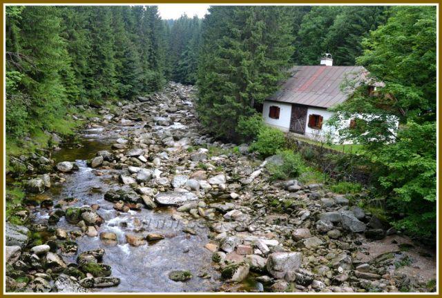 cesta z Harrachova
