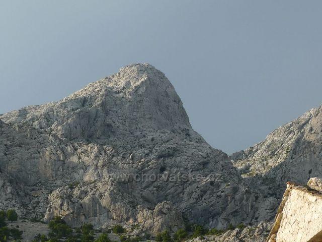 pohoří Biokovo z Topići