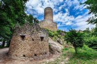 Cimburk - hrad u Koryčan