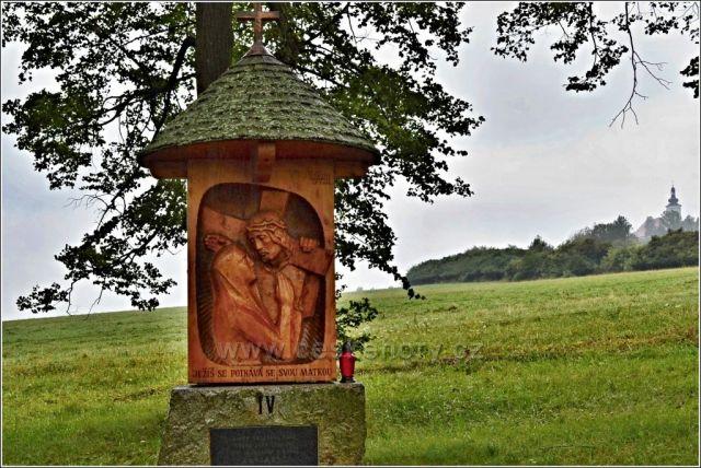 Křížová cesta, Uhlířský vrch, Bruntál