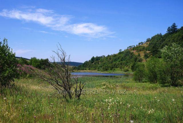 Dolní Moldava - rybníky