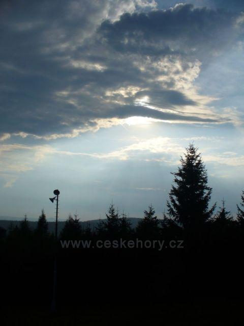 Západ slunce nad Čeřínkem