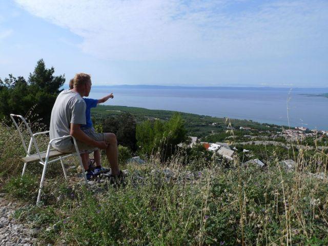 Posaďte se u nás!:-) nad Baškou Vodou