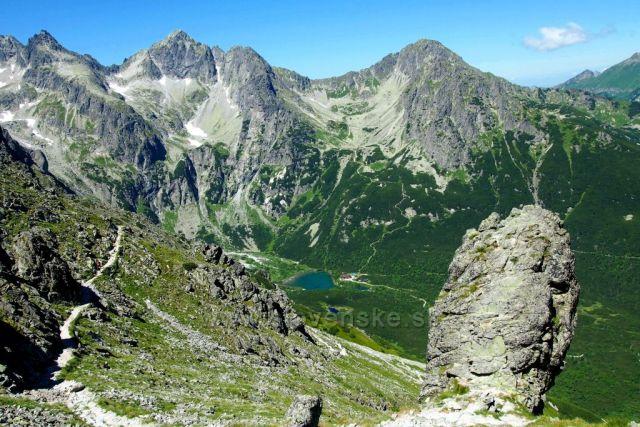 Vysoké Tatry - pohled z Velké Svišťovky