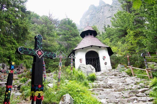 Vysoké Tatry - cintorín u Popradského plesa