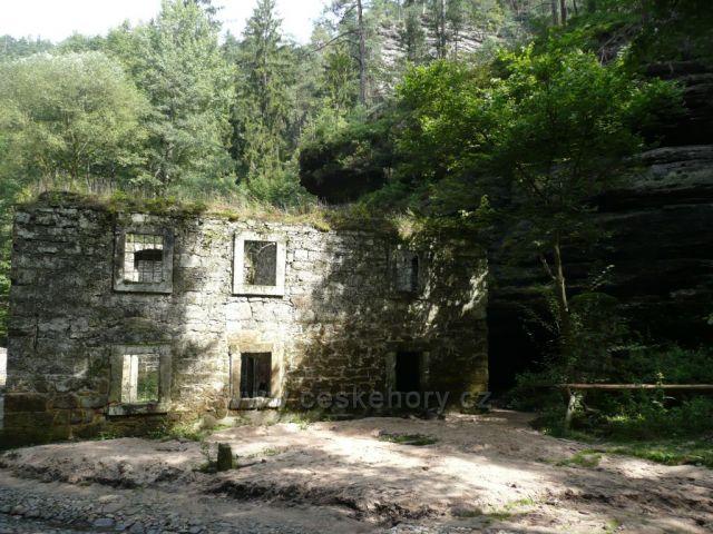 Dolský mlýn na Kamenici