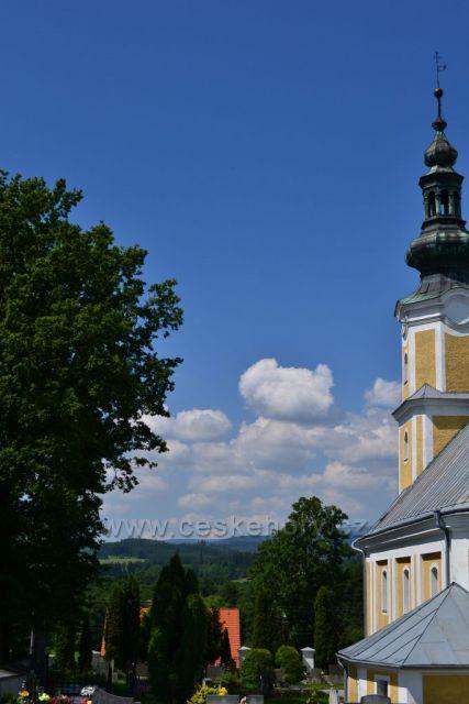 Kostel ve Světlé Hoře