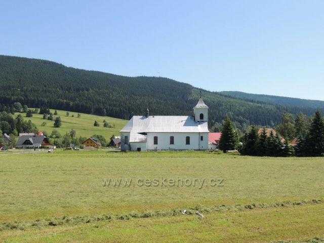 kostelík Ostružná -Ramzová