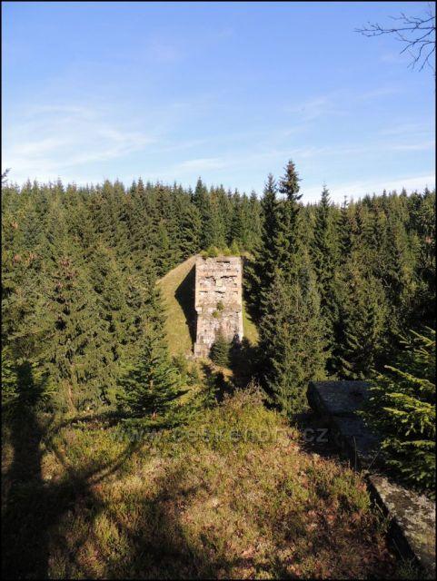 Druhý most zrušené trati u Hory sv.Šebestiána