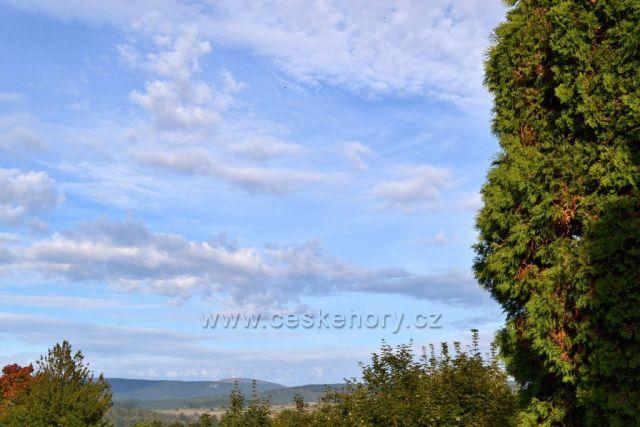 Výhled na Hrubý Jeseník, Praděd