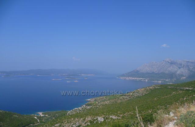 Chorvatsko,poloostrov Pelješac,Orebič