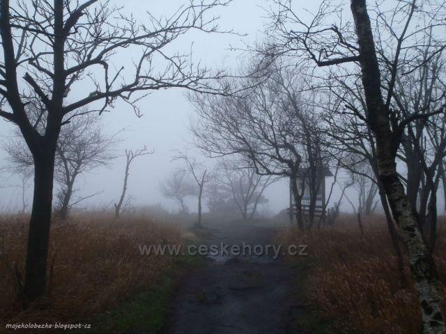 mlha na Drážďanské vyhlídce