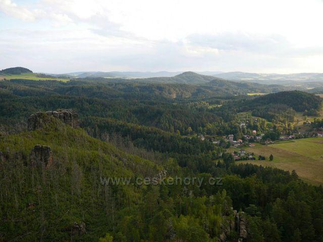 Pohled na Jetřichovice