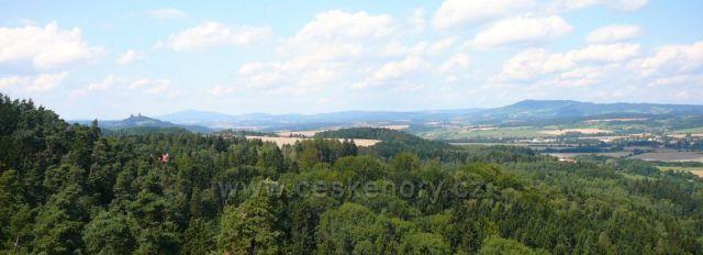 Pohled z Prachovských skal