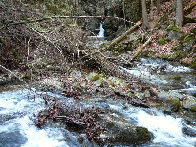 Stříbrný potok-Nýznerovské vodopády
