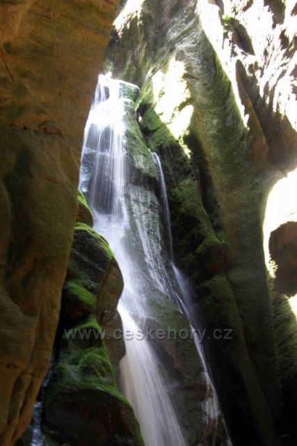 Adršpach - Velký vodopád