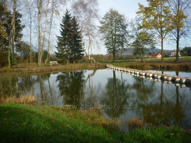 Rybníček u mlýna-Janov