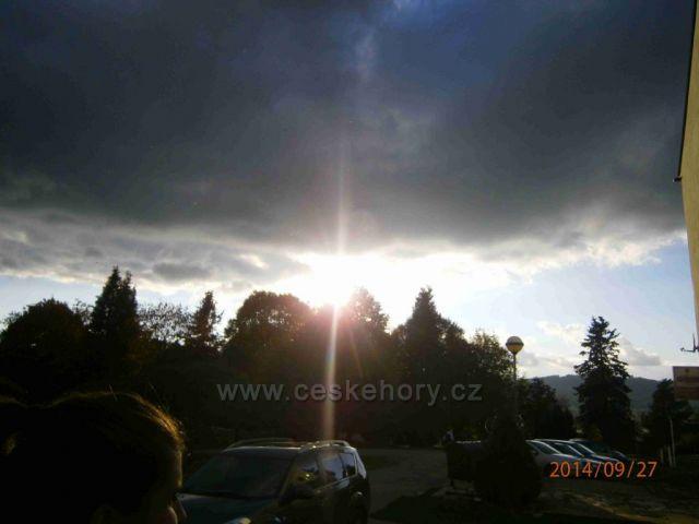 východ slunce - Šumava