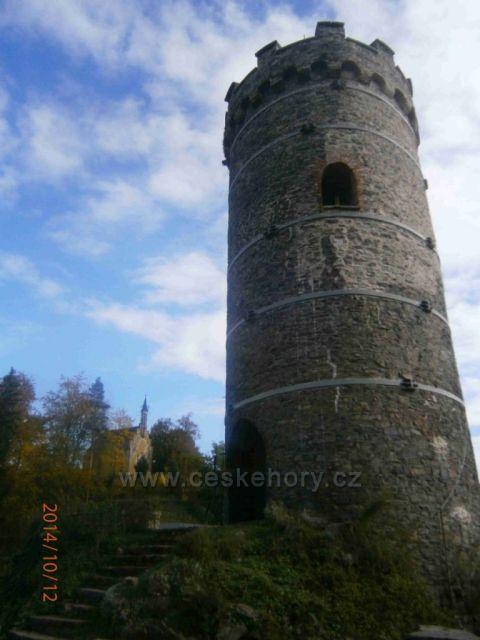 Horní Hrad - věž