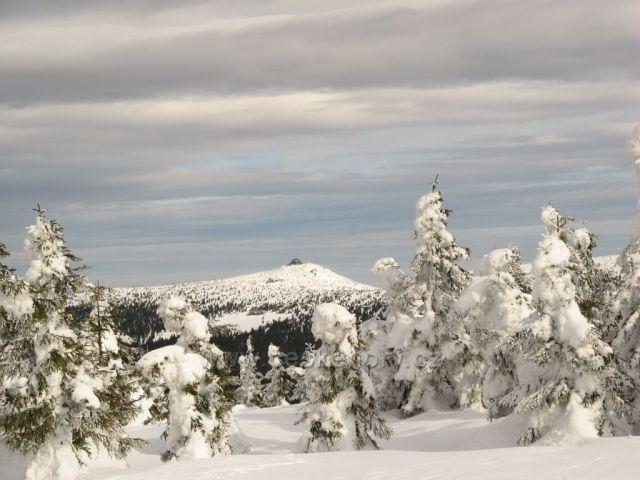 Srenica,pohled z Lysé hory