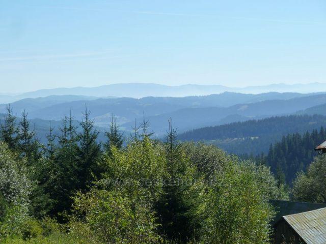 pohled na slovenske  karpaty