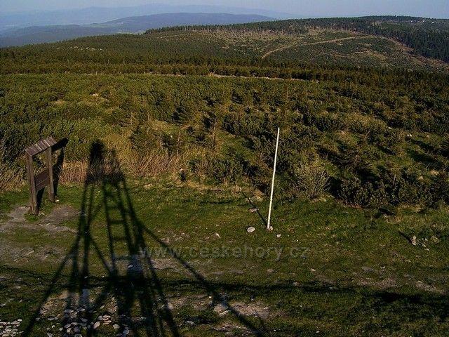 Výhled z Velké Deštné (1.115 m)