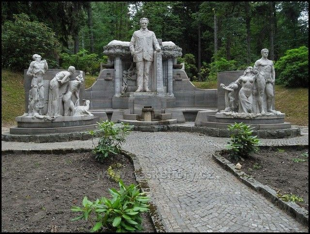 Priessnitzův památník, Jeseník.