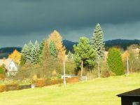 Ruprechtický Špičák v zákulisí podzimních krás.