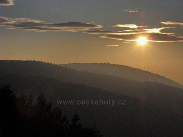 Podvečer na Radhošti (1.129 m)