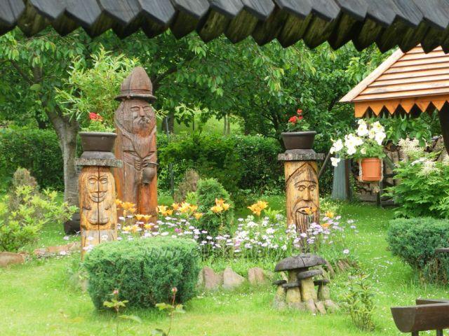 Krásy místních zahrádek na Janovičkách