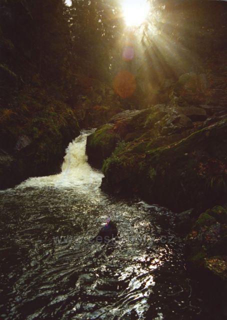 Podzimní slunce na Doubravě