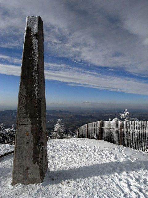 Vrchol Lysé hory (1.323 m)