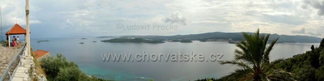 Vyhlad od Frantiskanskeho klastora v Podgorji...Orebic