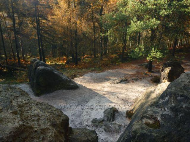 podzim v Tiských stěnách