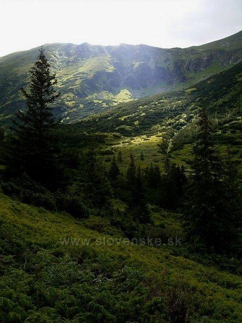 Západní Tatry.
