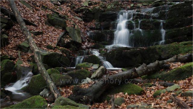 Vodopád na Zimném potoku