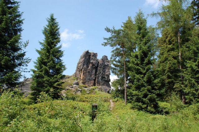 Přírodní památka Vysoký kámen - Luby